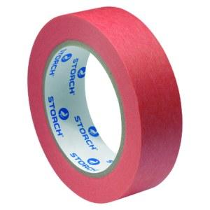 Krāsošanas lente (maskēšanai) Storch UV-Plus; 30 mm; 50 m; sarkana