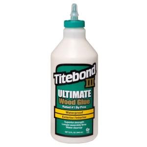 Līme kokam Titebond III Ultimate; 948 ml