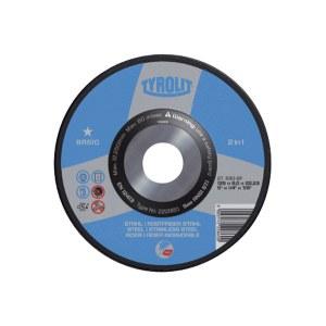 Slīpēšanas disks Tyrolit A 30 BF; 125x6 mm; 1 gab.