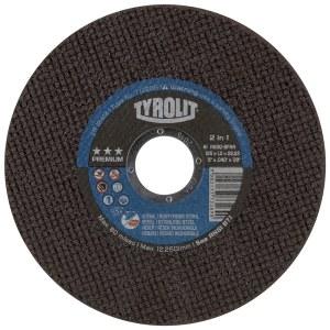 Abrazīvais griešanas disks Tyrolit; Ø125x1 mm; 1 gab.