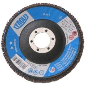 Lāpstveida slīpēšanas disks Tyrolit; 125 mm; 1 gab.