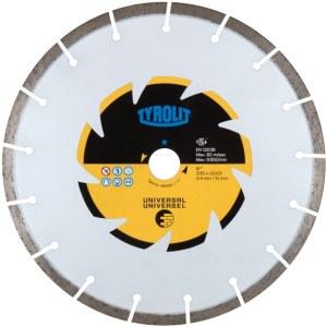 Dimanta griešanas disks Tyrolit DCU Eco Line 609175; 125 mm