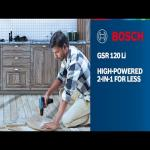 Bosch GSR120-Li Professional